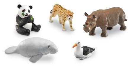 Learning Resources Jumbo Endangered Animals
