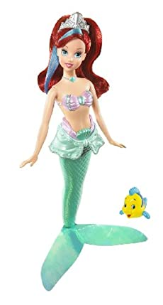 Mattel Disney Princess Royal Bath Beauty Ariel Doll at Sears.com