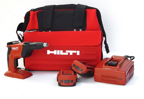 Hilti 03474878 Sd4500-A18 Cpc 18-Volt Cordless Compact High Speed Drywall Screwdriver With Toolbag