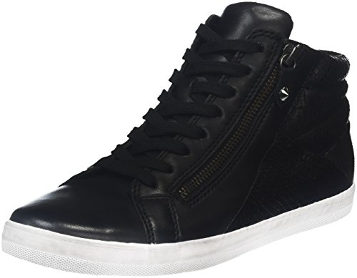 Gabor Shoes 56.426, Scarpe da ginnastica alte Donna, Nero (schwarz Micro), 43 EU