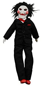 SAW Billy the Jigsaw Puppet 9in. Plush from NECA