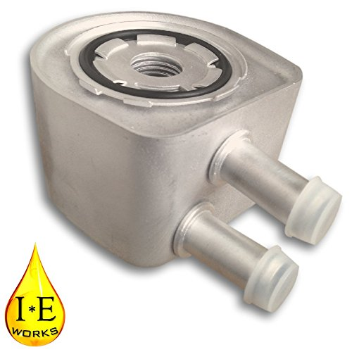 IE Works New Engine Oil Cooler with Seal for Ford Super Duty Pickup Truck Van 6.8L V10 5.4 V8 F8UZ6A642HA (Engine Ford Van 350 compare prices)