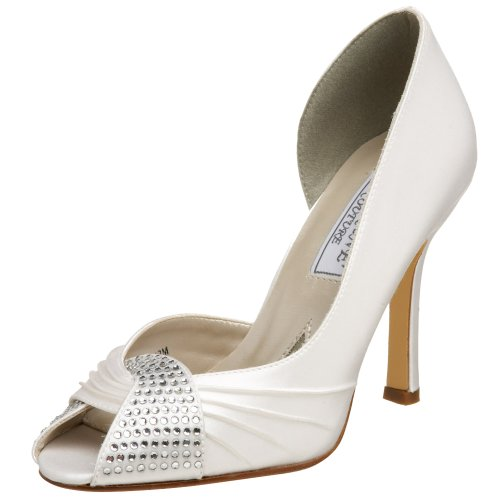 Liz Rene Couture Women's Saskia Pump,White,5 M US