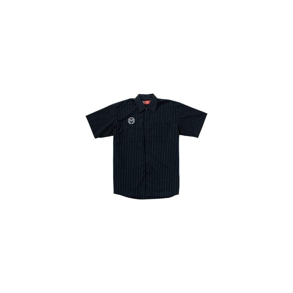 Moose Racing Track Shirt   Large/Black
