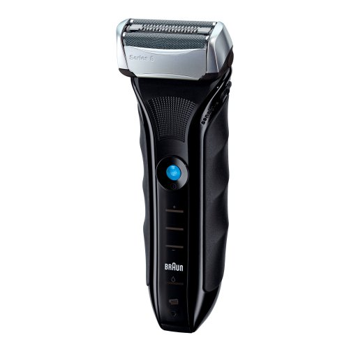 Braun德国博朗5系590cc-4电动剃须刀(带自动清洁桶)图片