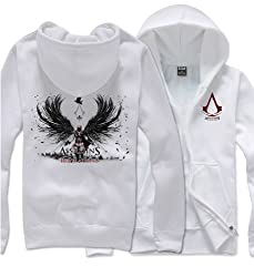 Assassin's Creed Revelations Desmond Miles Conner Kenway Cosplay Costume Hoodie Jacket