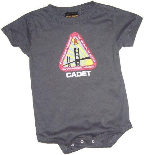 Star Trek Starfleet Academy Cadet Infant Onesie Snapsuit, 6 Months