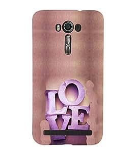EPICCASE Love Mobile Back Case Cover For Asus Zenfone 2 Laser ZE500KL (Designer Case)