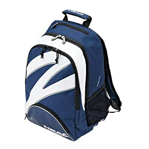 HEAD 2009 Radical Backpack Tennis Bag, Blue