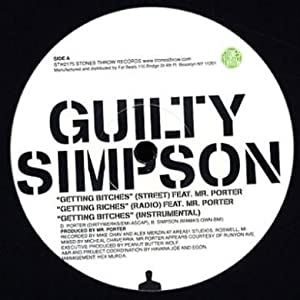 """Guilty Simpson: Getting Bitches 12"""""""