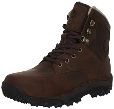 Timberland Men's Earthkeepers Winter Mid Boot, Red Brown