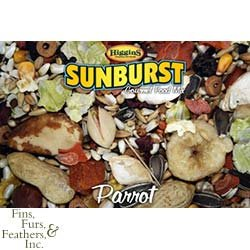 Sunburst Gourmet Pet Bird Food - 25 Lbs