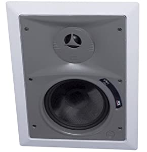 "MTX HT6253W 6-1/2"" Home Theater 3-Way In-Wall Speaker Pair"