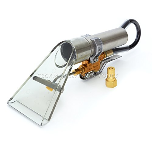 External Spray Upholstery & Carpet Cleaning Wand with Transparent Vacuum Head (Vacuum Head Carpet compare prices)