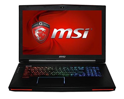 MSI GT72 2QD-652NL 43,9 cm (17,3 Zoll) Notebook (Intel Core i7 4710MQ, 3,3GHz, 16GB RAM, 1TB HDD, NVIDIA GeForce GTX970M, Win 8) schwarz