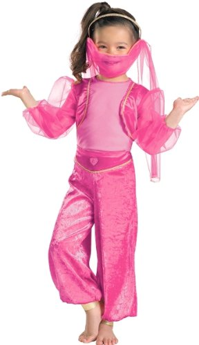 Tickled Pink Genie Toddler Costume - Kid's Costumes