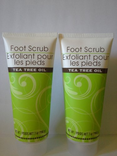 Foot Scrub With Tea Tree Oil (Two Pack)