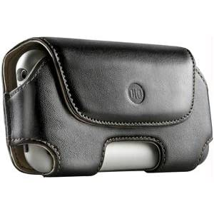 DLO Leather Holster Case for iPhone 3G, 3G S (Black)