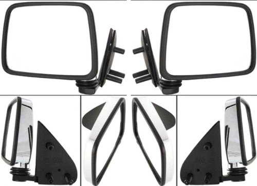 Discount Starter and Alternator 3310CL/R Nissan D21 Replacement Mirror Pair Manual Folding Non-Heated (1996 Nissan D21 Mirrors compare prices)