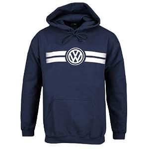 amazoncom genuine volkswagen game day hoodie sweatshirt navy size medium automotive