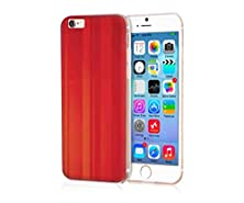 buy Mypolaroid Apple Iphone 6S Plus Case Beauty Luxury [Non-Slip] [Scrath-Resistant]Surface With Hard Tpu Case For Iphone 6S Plus (2015)/ 6S (2014)(New)--A Piece Of Red