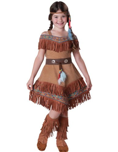 Indian Maiden Kids Costume 6 Kids Girls Costume
