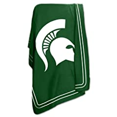 Buy Logo Chair Michigan State Spartans Classic Fleece by Logo