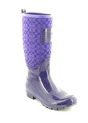 Coach Pearl Women's Boots Purple Size 7 M