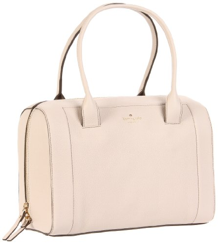 Cheap Kate Spade New York  Mansfield Liv PXRU3051 Satchel,Cream,One Size