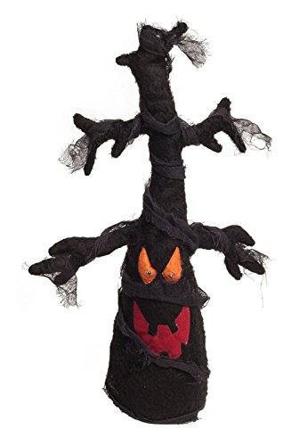 Animated Light Up Haunted Plush Tree