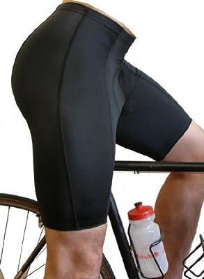 ATD Men's Top Shelf Padded Bike Short - Cycling Shorts Made in USA