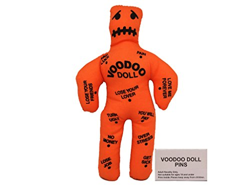 Noveltees Company Voodoo Doll, Random Color