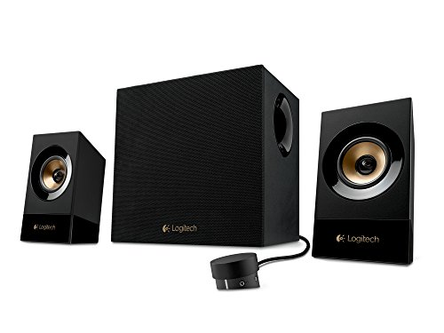 Logitech Z533 Multimedia Sistema di Altoparlanti, Subwoofer con Due Satelliti, Nero/Antracite