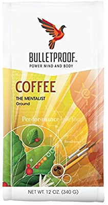 Bulletproof 'The Mentalist' Dark Roast Ground Coffee 340g from Bulletproof