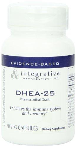 Integrative Therapeutics Dhea-25 Vcaps, 60-Count