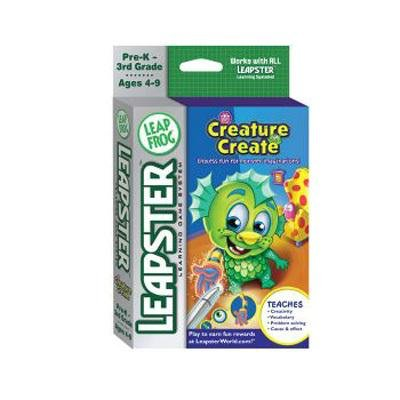 LeapFrog Leapster® Educational Game: Creature Create - Buy LeapFrog Leapster® Educational Game: Creature Create - Purchase LeapFrog Leapster® Educational Game: Creature Create (LeapFrog, Toys & Games,Categories,Electronics for Kids,Learning & Education,Cartridges & Books)