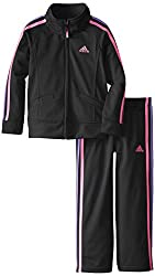 Adidas Little Girls' Performance Tricot Set