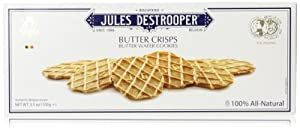 Jules Destrooper Butter Crisps, 3.5 Oz