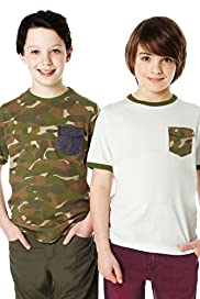 2 Pack Pure Cotton Camouflage T-Shirts with Stay New™