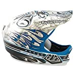 Troy Lee D2 Composite Full Face Helmet Pistonbone Blue Medium / Large