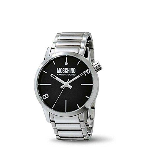 MOSCHINO - MW0101 - Montre Homme - Quartz - Analogique - Bracelet Acier Inoxydable Argent