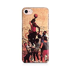 Motivatebox - Apple Iphone 7 Back Cover - Local Basketball Polycarbonate 3D Hard case protective back cover. Premium Quality designer Printed 3D Matte finish hard case back cover.