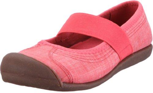 Keen Womens SIENNA MJ (CANVAS) Ballet Flats Pink Rosa (HIBS) Size: 6 (39.5 EU)