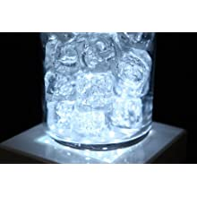 "Fortune Products LB-5W Square Light Base with White LED's, 5"" Length x 5"" Width x 1-1/4"" Height"