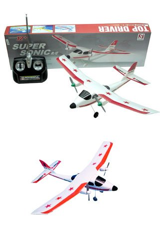 2-Channel RC Super Sonic Radio Control Airplane Cheap