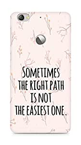 AMEZ the right path is not easy Back Cover For Letv Le 1S