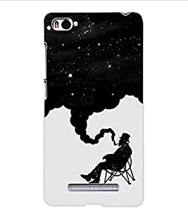 ColourCraft Creative Image Design Back Case Cover for XIAOMI MI 4I
