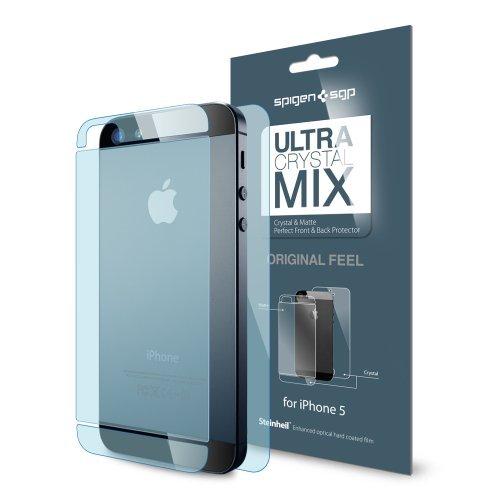 国内正規代理店品 SPIGEN SGP iPhone5 シュタインハイル ウルトラ・クリスタル Mix [前面・背面セット] SGP09590
