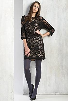 Limited Collection 3/4 Sleeve Contrast Lace Dress - Marks & Spencer