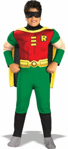 Teen Titan Robin Costume - Toddler Costume deluxe